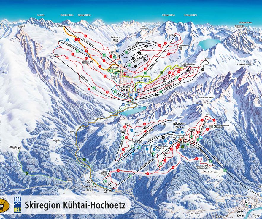 School ski trips to Khtai Hochoetz Austria