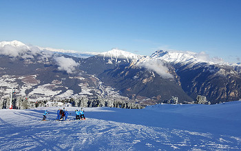 Skiing in Val di Fiemme