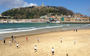 Football trip to San Sebastian