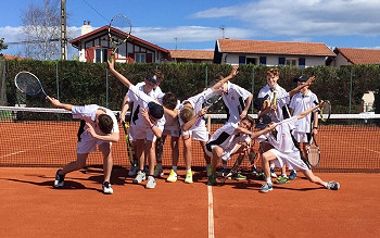 Tennis trip to Biarritz