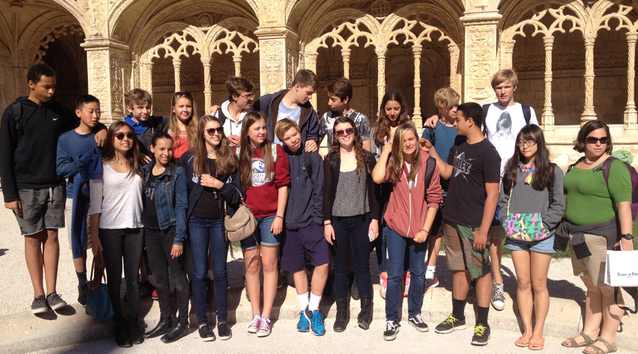 Service Learning trip to Óbidos, Portugal