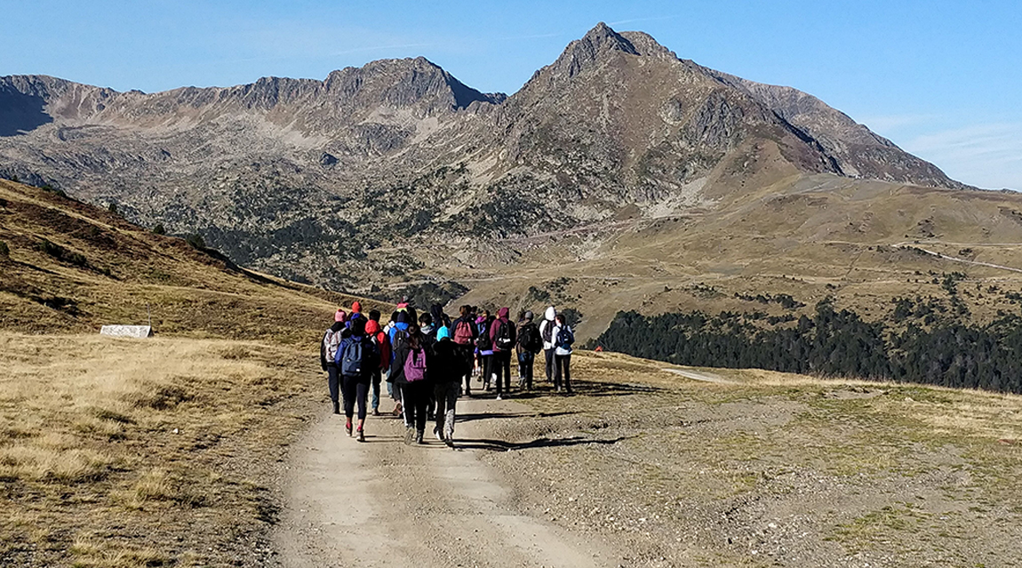 Geography trip to Andorra