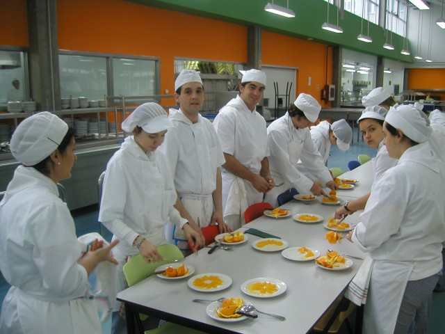 Cookery classes form part of our football tour programme