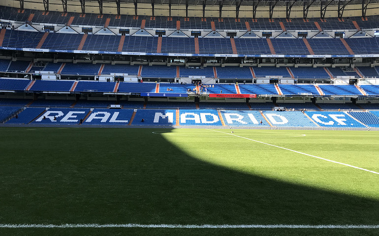 Watch Real Madrid in action as part of your football stadium tour to Madrid