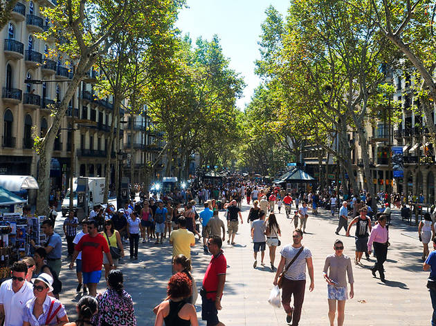 Take time to see the famous La Rambla on your next football tour