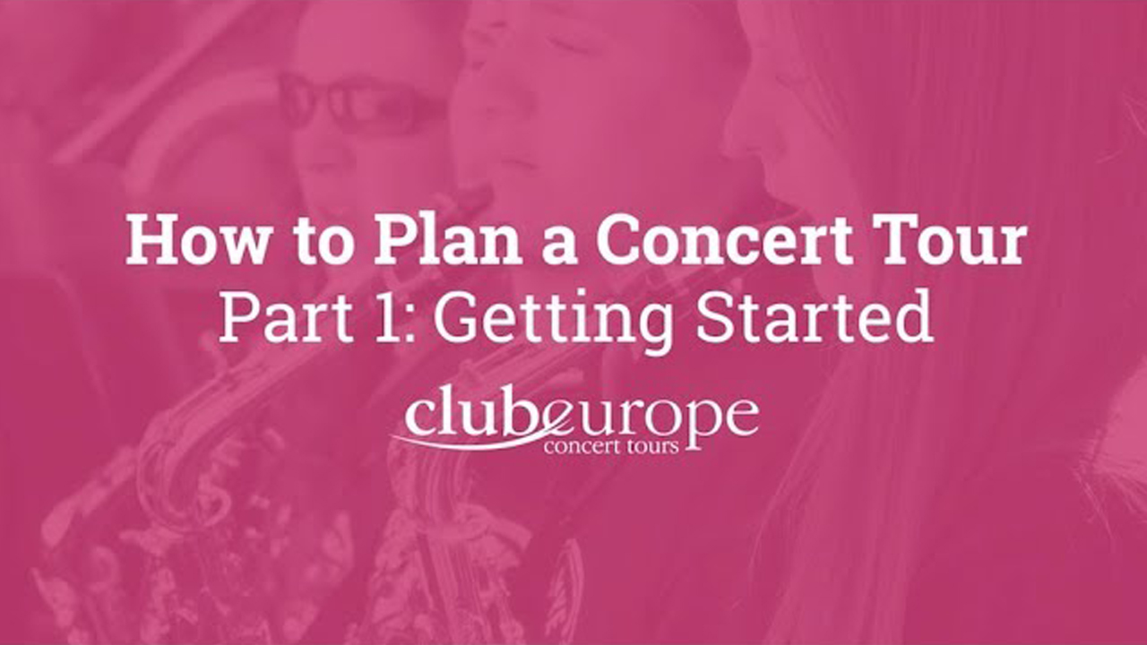 How to Plan a Concert Tour 1