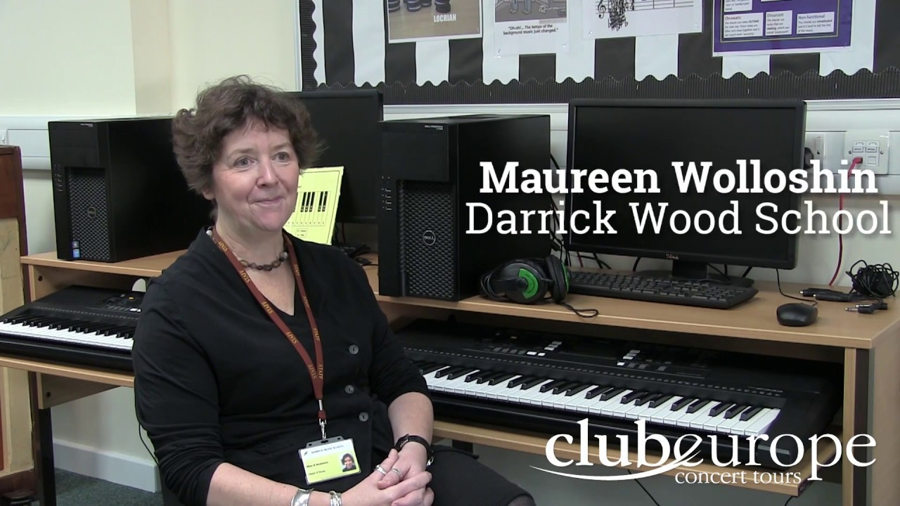 Maureen Wolloshin talks about organising a music tour to Flanders