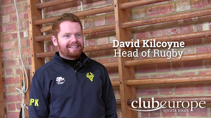 David Kilcoyne talks about his rugby tour to Madrid