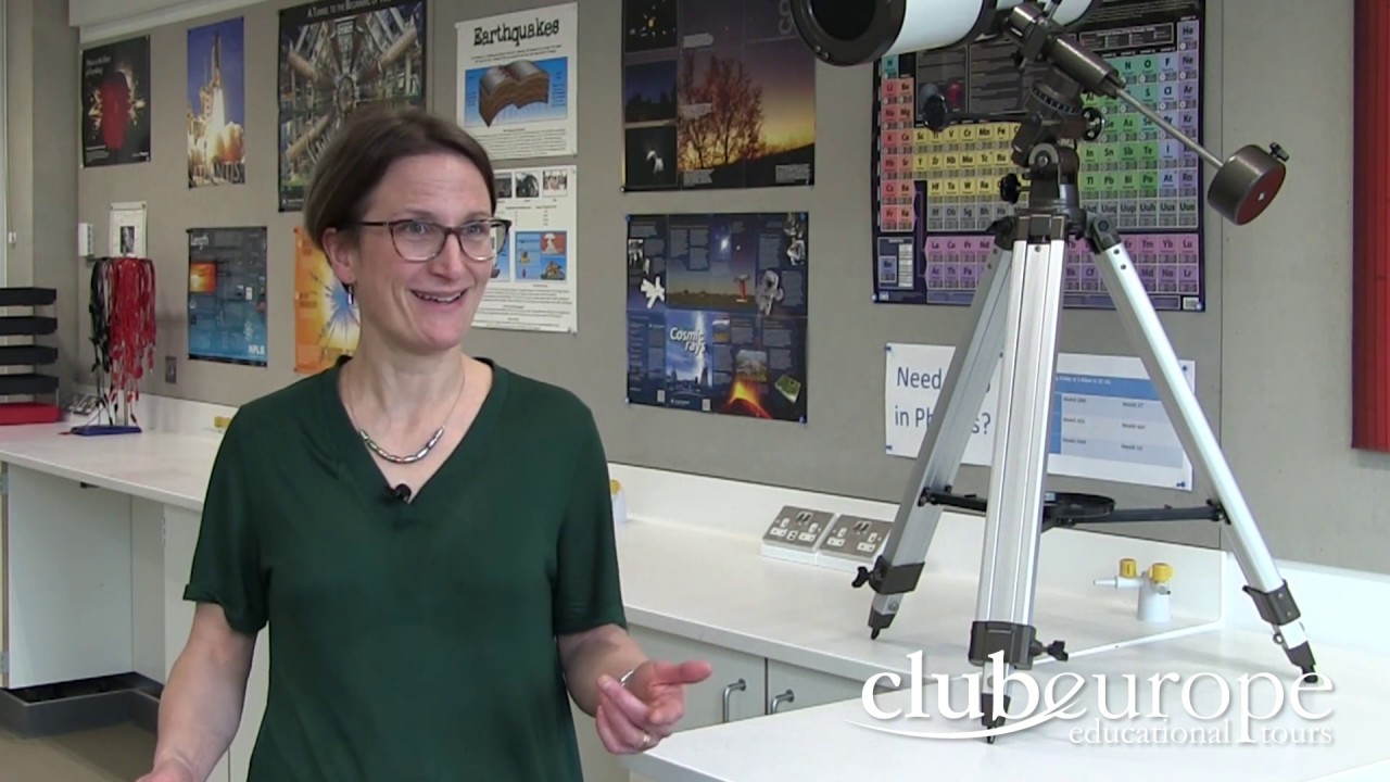 Dr Ali Galloni talks about her Science trip to CERN