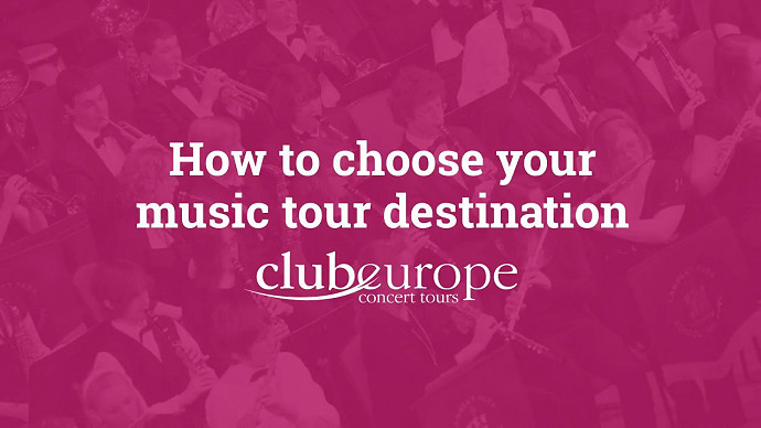 How to Choose your Music Tour Destination