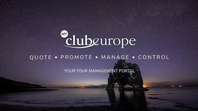 My Club Europe - new trip management system