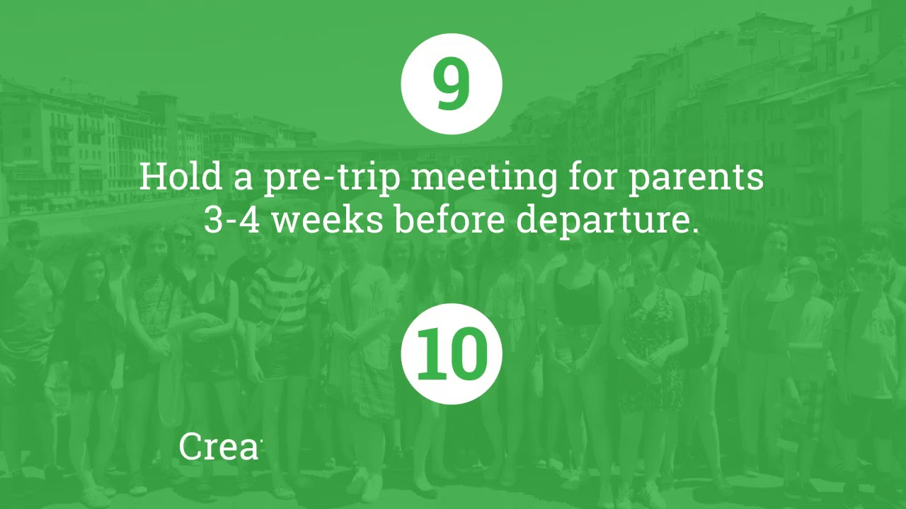 Our step-by-step Guide to planning a School Trip: Part 2