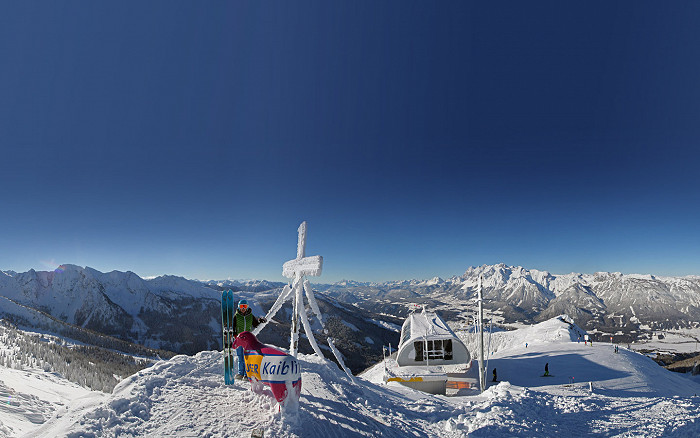 Skiing in Schladming-Dachstein