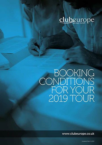 Booking Conditions 2019