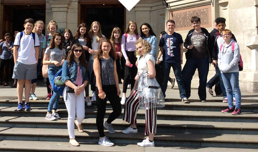 Support trip for GCSE music students