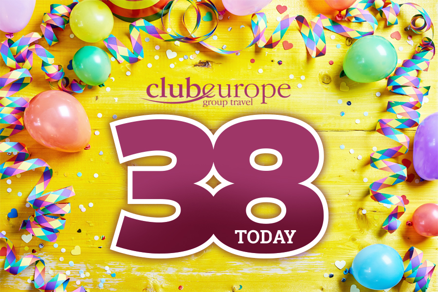 Club Europe is 38 today!