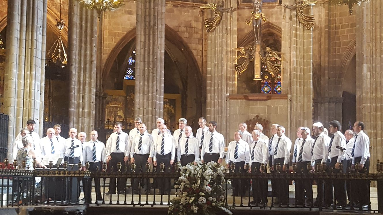 Club Europe to sponsor male voice choir's 21st annual concert