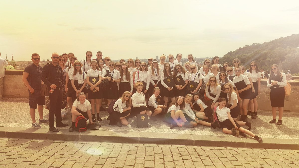 'Our chamber choir tour to Prague is something that we will never forget probably for the rest of our lives'