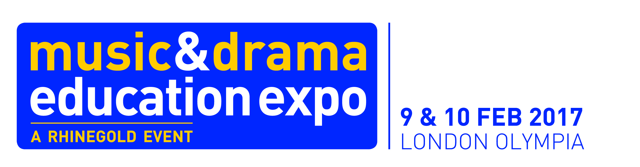 Come and meet us at the Music & Drama Education Expo