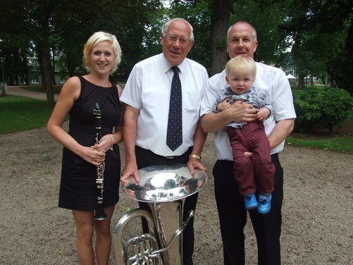Head of Music retires after eight school music tours with Club Europe