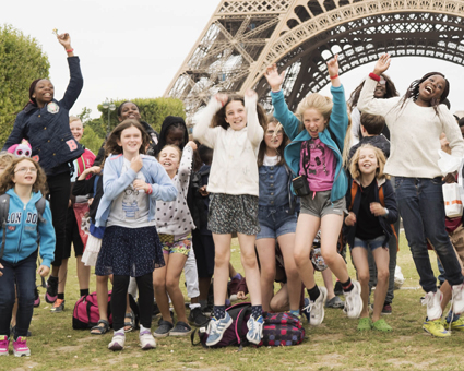 School trip to Paris